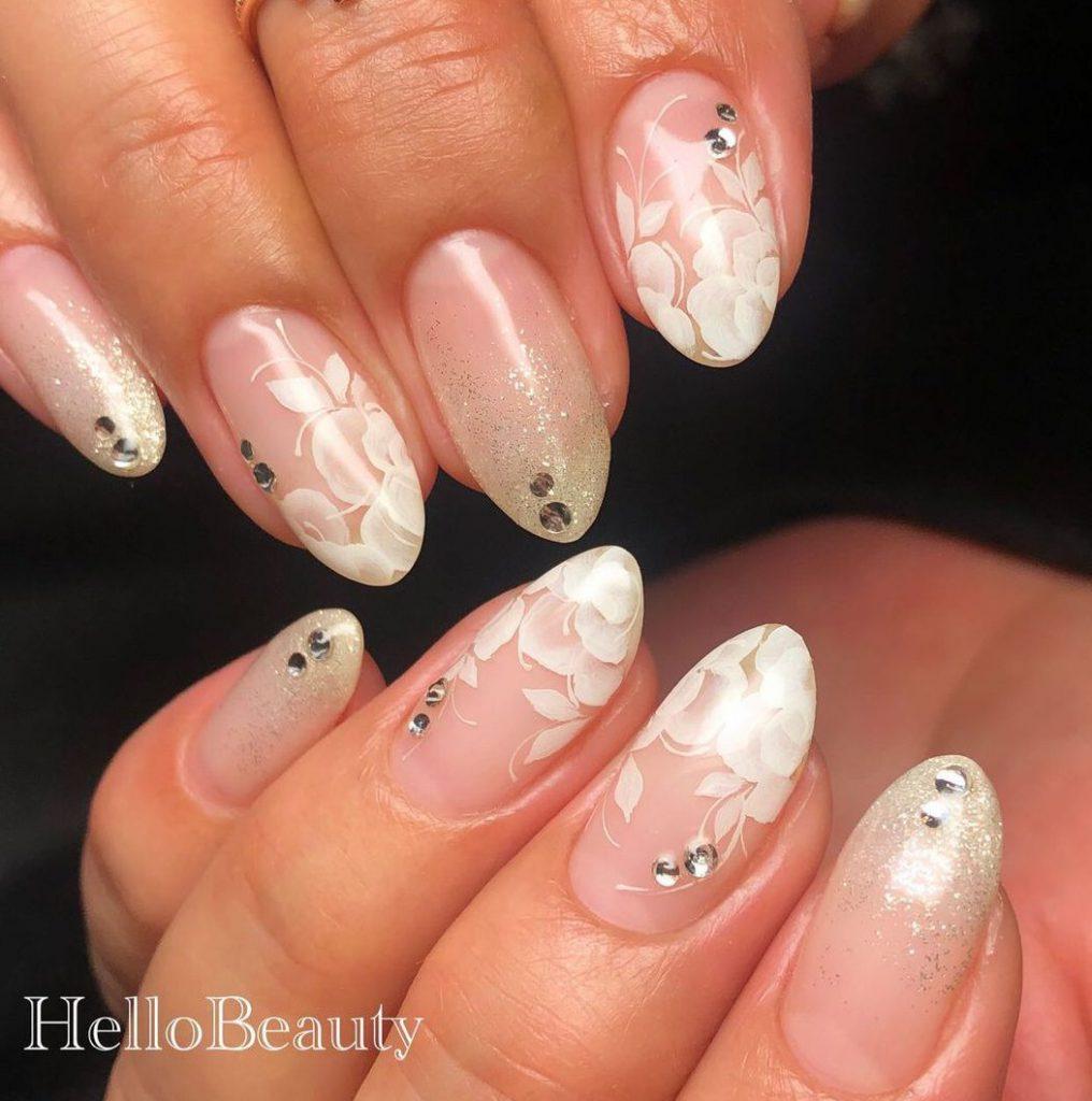 Winter nail art  冬のネイルアート