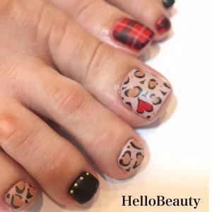 Winter-foot-nail-art