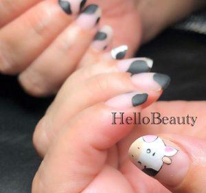 January Salon Work Nail 一月のサロンワークネイル