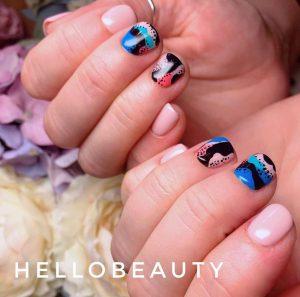 Nail art for cute short nails