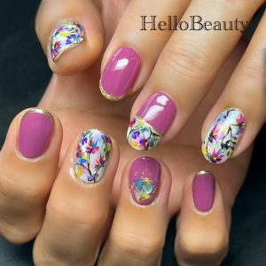 Nail that was popular in February