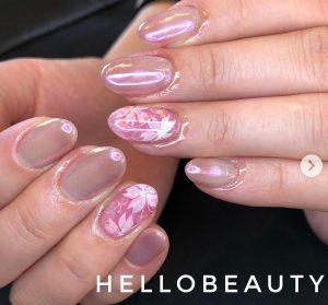 sakura's nail design feature