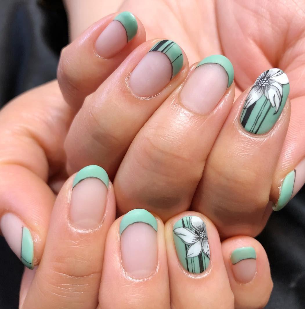 5月のおすすめネイル🍃さわやかな初夏!新緑の季節を満喫して