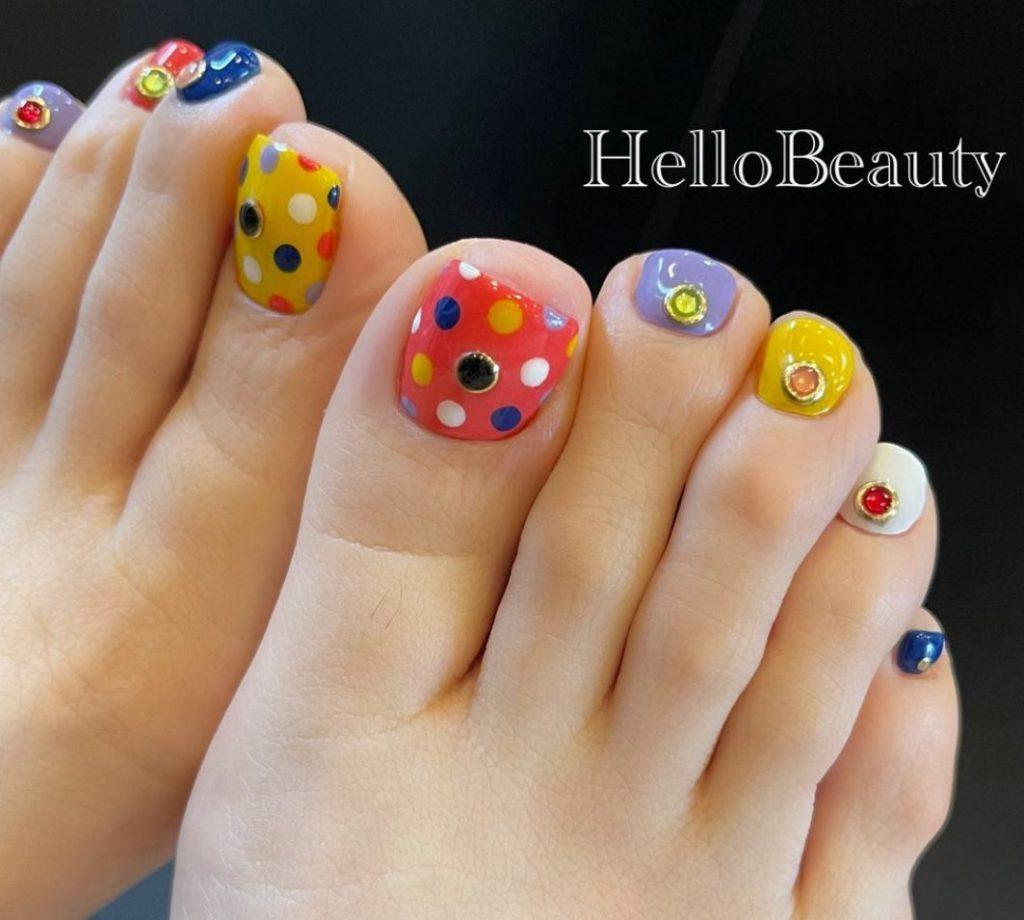 June is a nail art campaignrt campaign