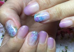 Best Watercolor style nail art