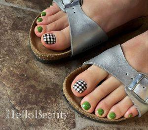 Summer foot nail art 2021